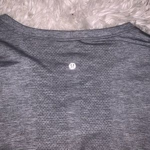 Lulu lemon Gray Long-Sleeve